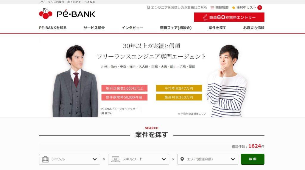 PE-BANK 公式HP